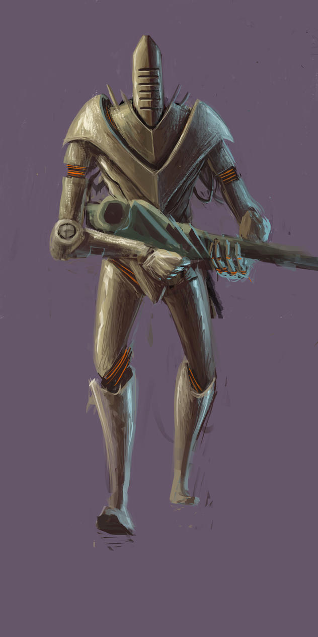 Robotmand by Nailclippins