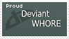 Deviant Whore Stamp by Crystal-Artist