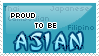 Proud To Be Asian Stamp by Crystal-Artist