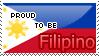 Proud To Be Filipino Stamp