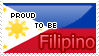 Proud To Be Filipino Stamp by Crystal-Artist