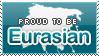 Proud to be Eurasian Stamp