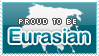 Proud to be Eurasian Stamp by Crystal-Artist