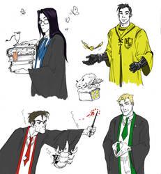 Welcome to Hogwarts by Dejavidetc