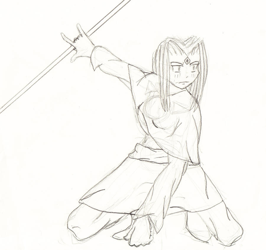 Crouching Pose By A H R On Deviantart