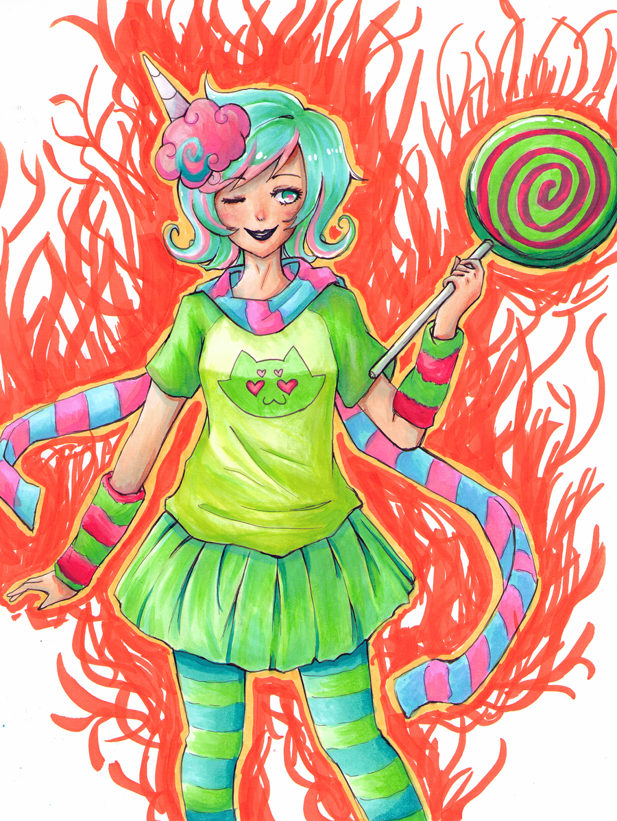 Trickster Roxy by exjuice
