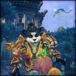 Pandaren Wallpaper for IPad