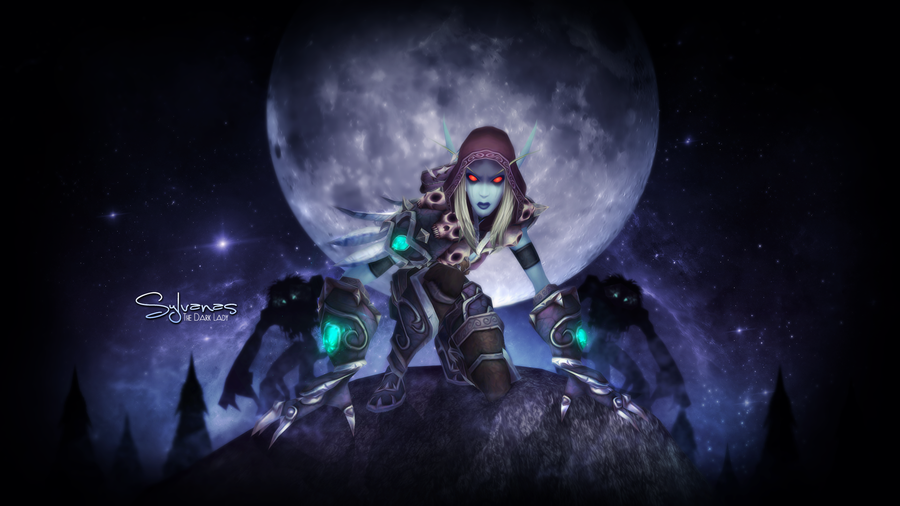 Sylvanas The Dark Lady by Melificence