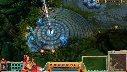 Pool Party Leona League of Legends Overlay