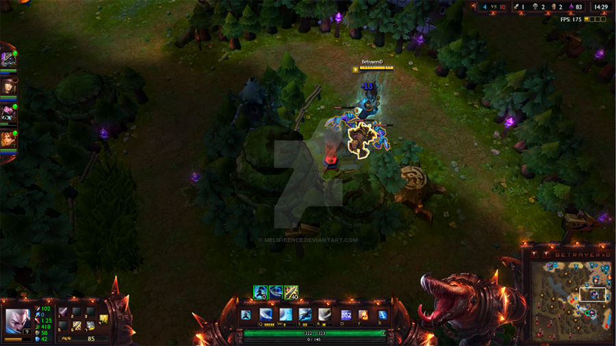 Scorched Earth Renekton League of Legends Overlay