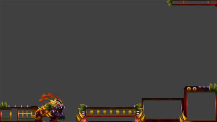 Lion Dance Kog'Maw League of Legends Overlay by Melificence