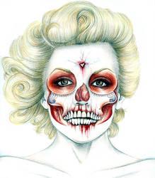 Marilyn Monroe process shot 2
