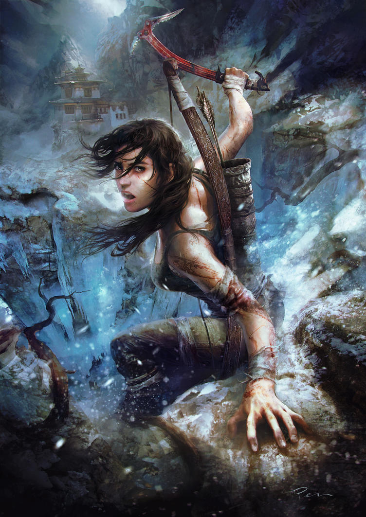 Tomb Raider by Pencracker by Pencracker