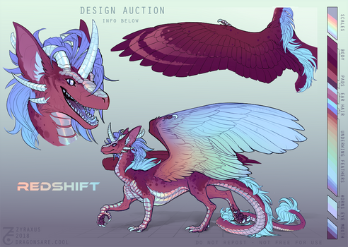 [CLOSED] Design Auction - Redshift