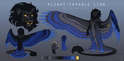 [CLOSED] Design Auction - Flight Capable Lion