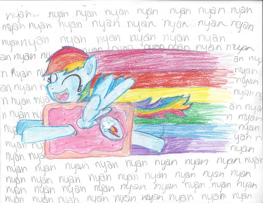 Nyan Dash by SpotLightPony
