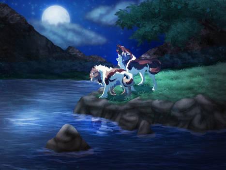Storybook: Nimue and Sebastian go searching