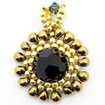 Black Bronze Drop Pendant by BiBikoh