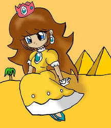 Princess Daisy by SweetAnimeGirl