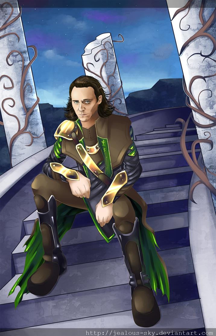 ~Loki~ by Jealous-Sky