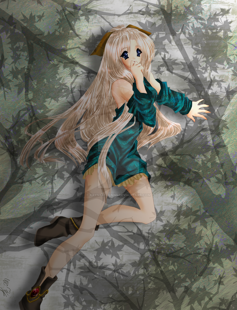In the forest shadows by KrystalLynn5