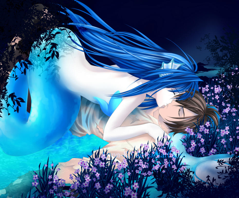 Mermaid Kiss by KrystalLynn5