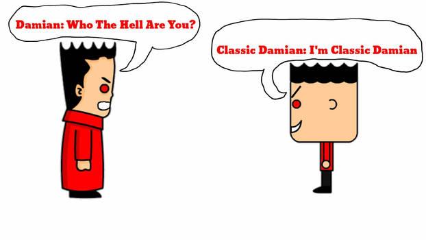 Damian Meets His Classic Self