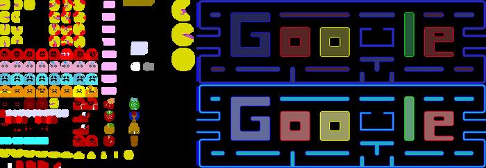 Google-PacMan.Exe Sprites