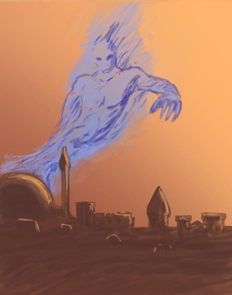 The Blue Djinn by Avest