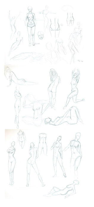 Female Figures 1 by Avest