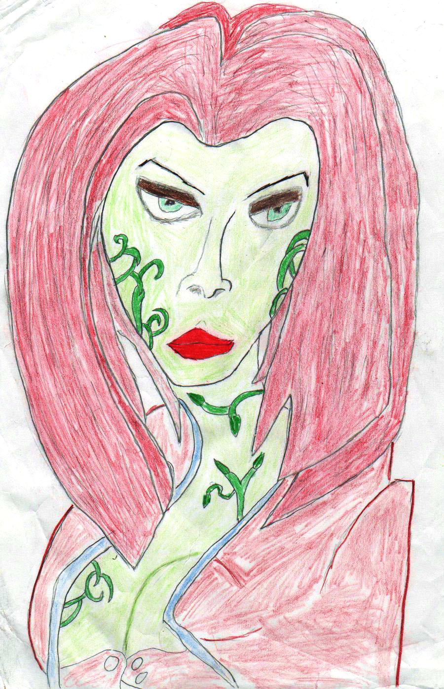 Poison Ivy from batman comics