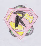 robin supergirl logo by kaybarlowe