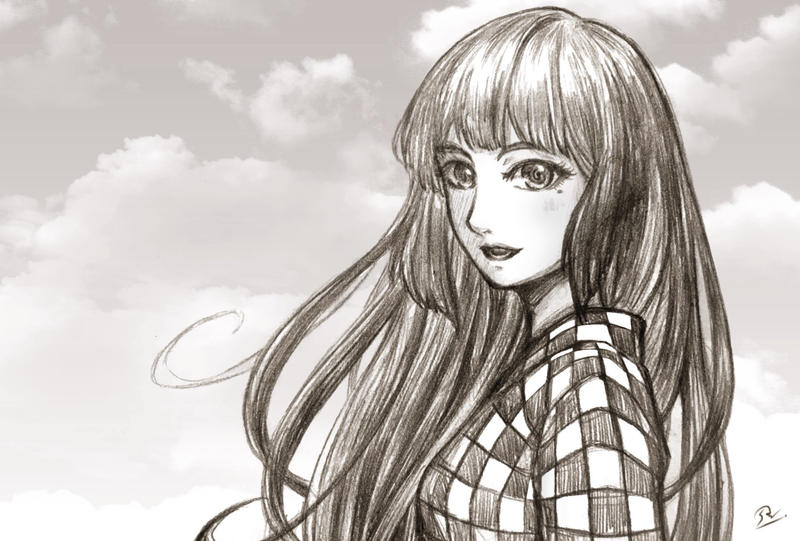 Kimi Ga Ita Sora: The Sky That Day Where I Saw You by awasetsu