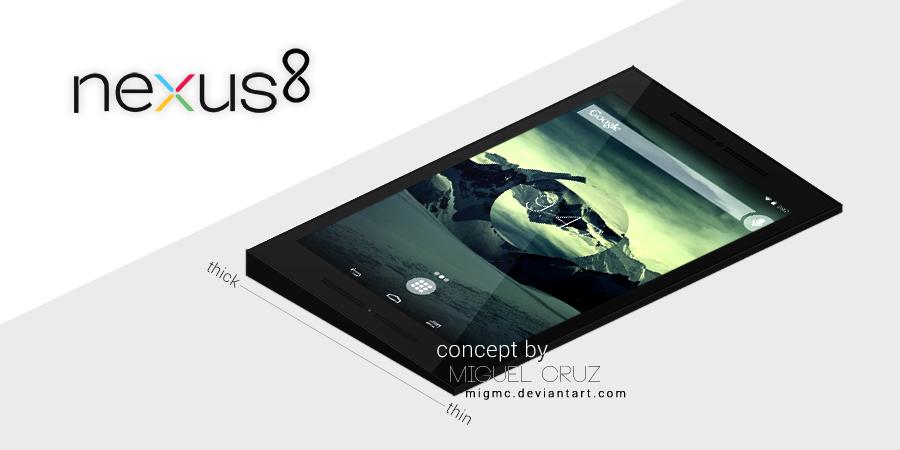 Nexus 8 Concept II