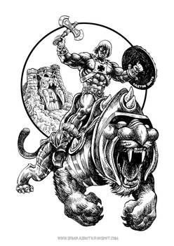 masters of the universe-he-man