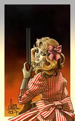 Candy a pris son fusil