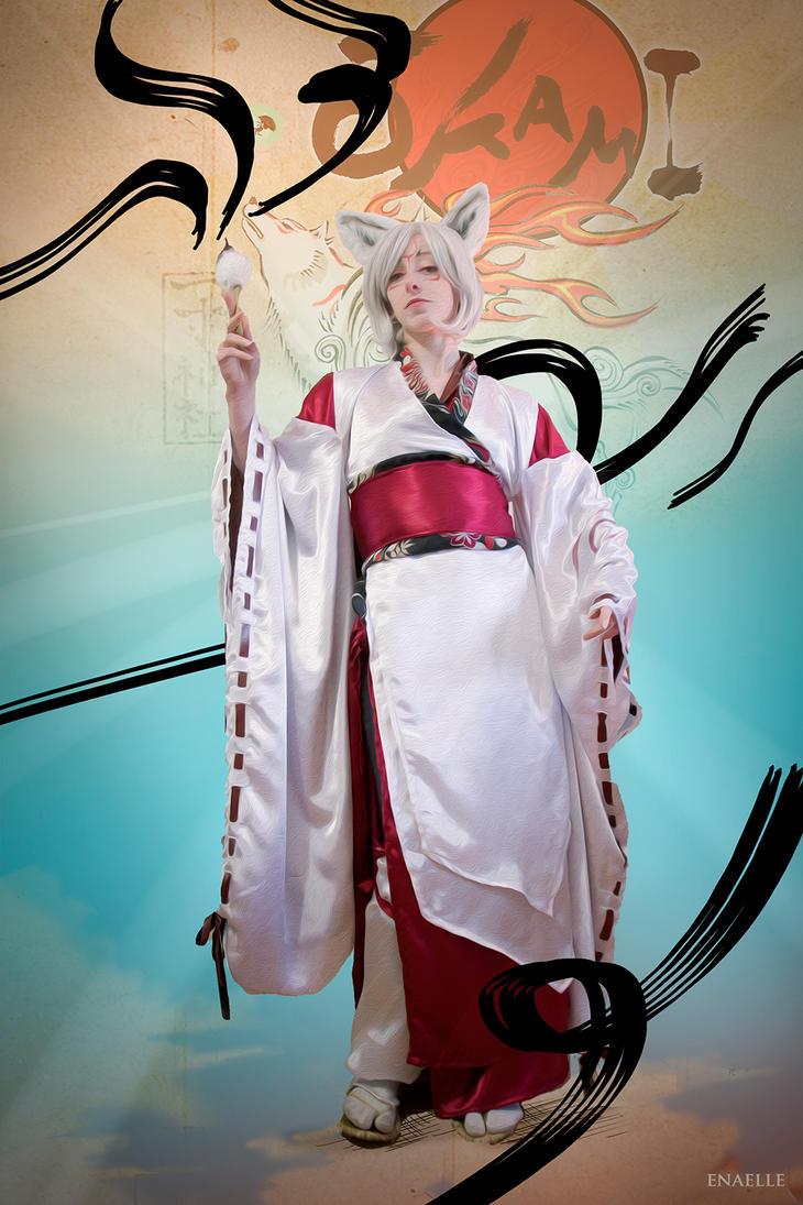 Amaterasu Okami cosplay! by Enamaeris