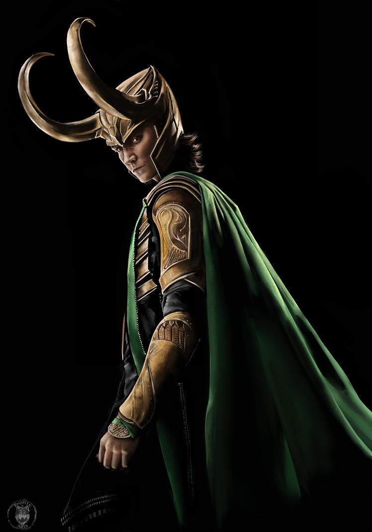 Loki Fanart - Thor by Enamaeris