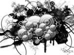3D Vectors wallpaper
