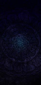 Mandala Dark Blue