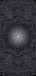 Mandala Grey by solenero73