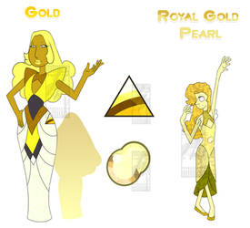 Gold + Royal Gold Pearl by Inochi-PM