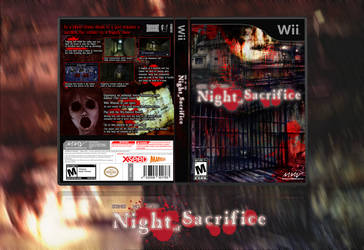 Night of Sacrifice Wii Box Art -Ikenie No Yoru- by Inochi-PM