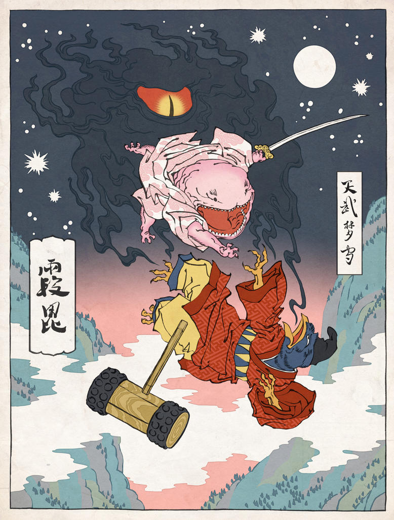 Kirby as an ukiyo e by thejedhenry on deviantart kirby as an ukiyo e by thejedhenry voltagebd Gallery