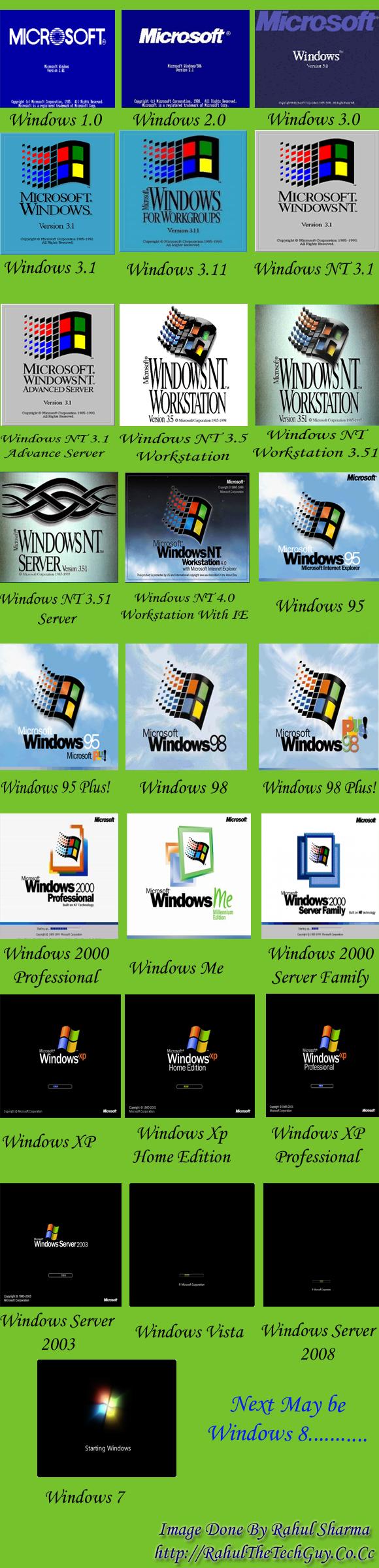 Windows Bootscreen collection