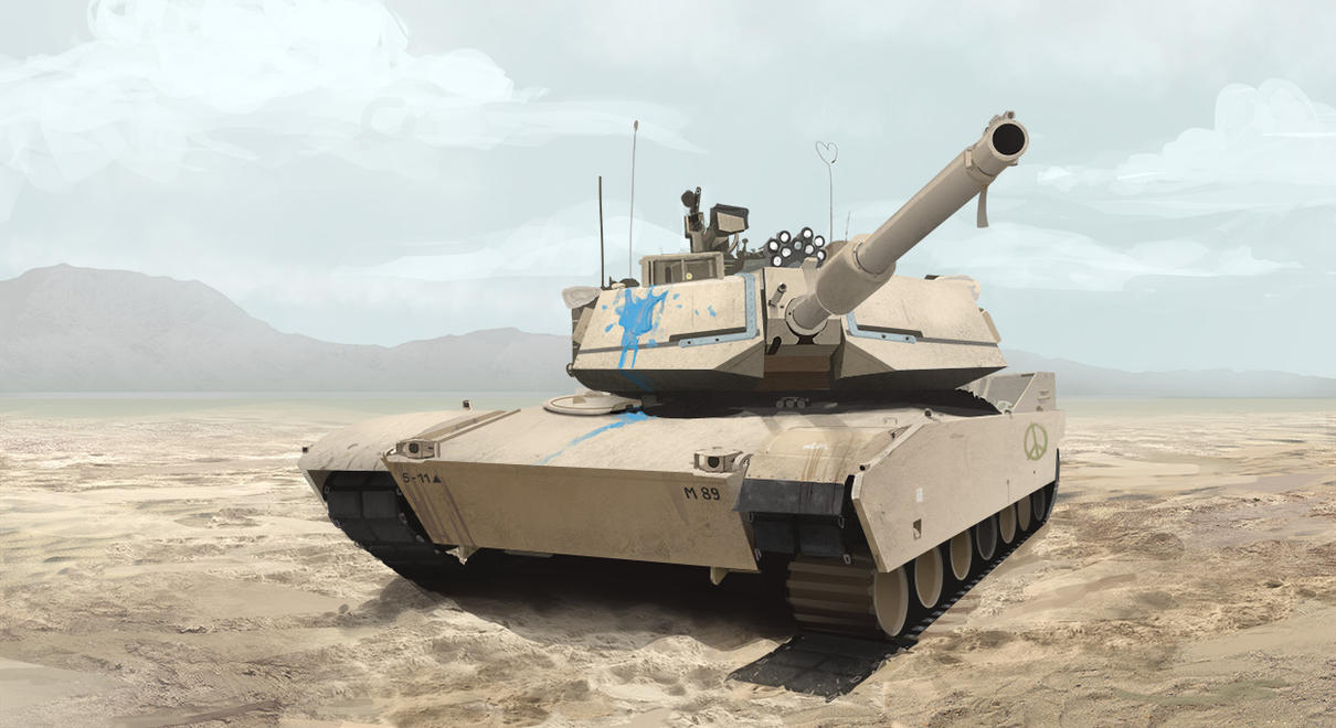 Tank 001 - study by MittMac