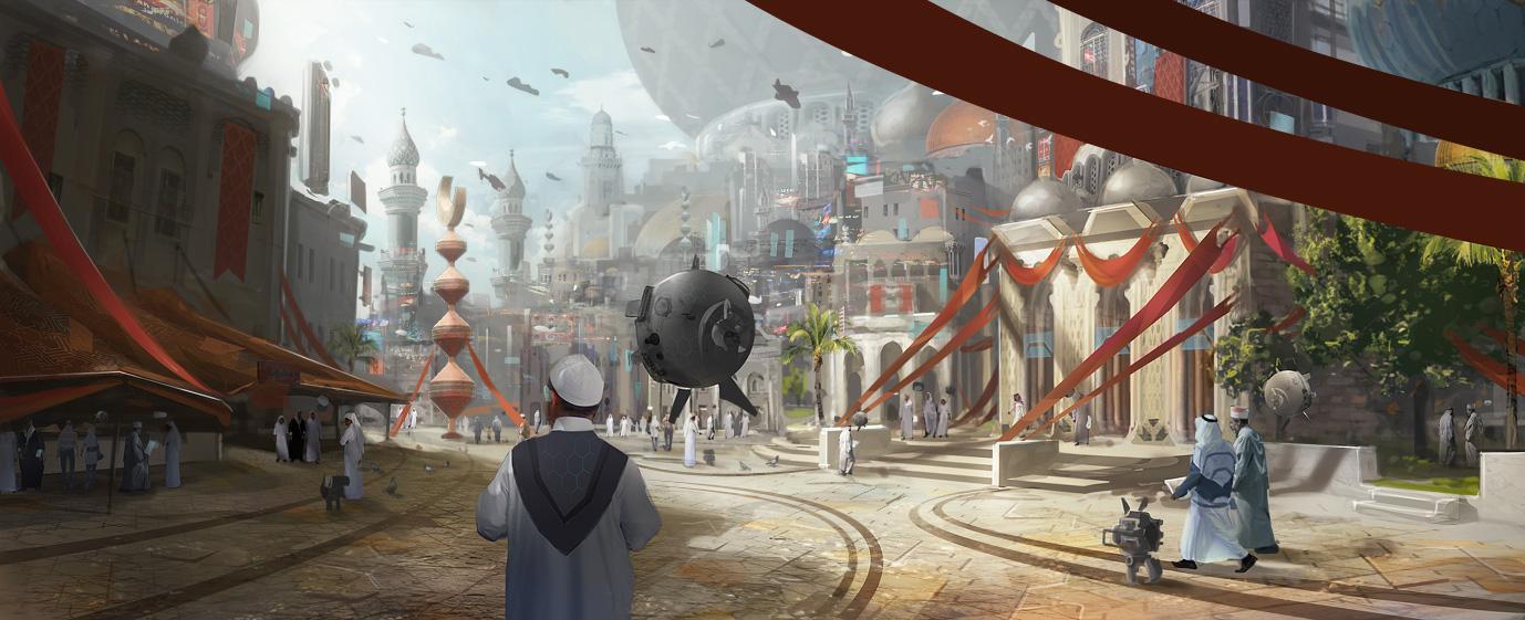 Walk around the city by MittMac