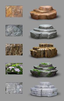 Material study - rocks