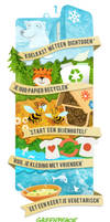 Greenpeace infographics - kidswebsite