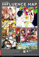 mina's influence map by minataka94